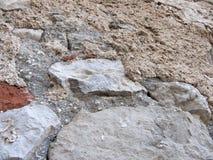средневековая каменная стена Стоковые Изображения RF