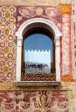 Средневековая картина стены Стоковое Изображение