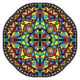 Средневековая картина цвета Стоковое фото RF