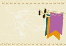 Средневековая королевская предпосылка объявления желтый цвет обоев вектора уравновешивания rac померанцовой картины цветков eps10 иллюстрация вектора