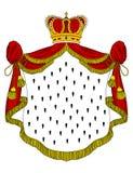 Средневековая королевская хламида Стоковое Изображение RF