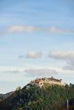 Средневековая крепость в Rasnov, Трансильвании, Brasov, Румынии стоковое изображение rf