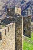 Средневековая крепость Стоковые Изображения RF