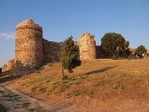 Средневековая крепость Mezek (Болгария) Стоковые Фотографии RF