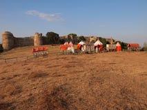 Средневековая крепость Mezek (Болгария) Стоковое Фото