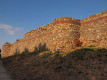 Средневековая крепость Mezek (Болгария) Стоковые Изображения RF