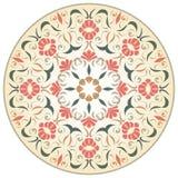 Средневековая круглая розетка Стоковое фото RF