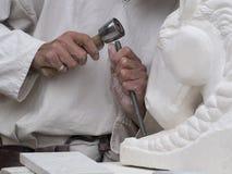Средневековая реплика мастерской, Les Baux-de-Провансаль, Франция стоковые изображения rf
