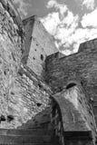 средневековая стена обеспеченностью Стоковое Изображение RF