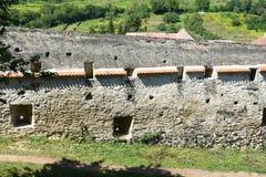 Средневековая укрепленная церковь Biertan saxon, Трансильвания стоковое изображение