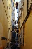 средневековая улица Стоковое фото RF