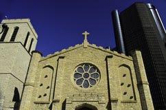 Средневековая церковь в Детройте Стоковые Фото