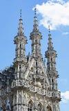 ратуша в лёвене, Бельгии Стоковое фото RF