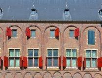 Средневековое здание в Мидделбурге Стоковое Изображение RF