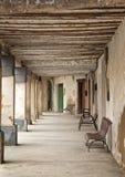 Средневековое крылечко стоковые фотографии rf