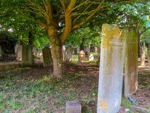 Средневековое кладбище на острове Джерси Стоковое Фото