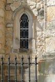 средневековое окно Стоковое Фото