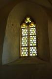 Средневековое окно castel Стоковые Изображения RF