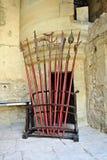 средневековое оружие Стоковые Изображения