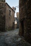 Средневековое село Стоковое Изображение