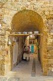 Средневековое backstreet стоковая фотография