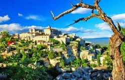 Средневековое Gordes, Провансаль Стоковое фото RF