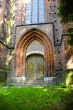 Средневековые двери Стоковые Изображения