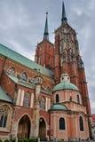 Средневековые, готические башни церков Стоковое фото RF