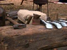 Средневековые инструменты Стоковое Изображение