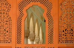Средневековые искусства дизайна: смесь индусской & мусульманской культуры Стоковые Изображения