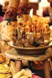 Средневековые испеченные груши Стоковая Фотография