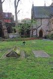 Средневековые могилы Стоковая Фотография RF