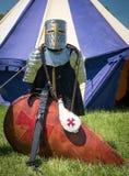 Средневековые панцырь и экран Стоковая Фотография