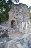 Средневековые руины монастыря Стоковое фото RF