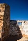 Средневековые руины дома Стоковые Изображения RF