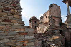средневековые руины стоковая фотография rf