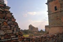 средневековые руины стоковые фото