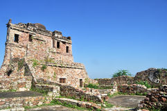 средневековые руины стоковые изображения