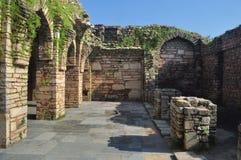 средневековые руины стоковое изображение