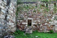 средневековые руины стоковые фотографии rf