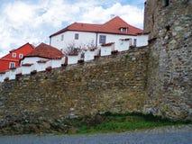 средневековые стены Стоковое Изображение RF