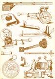 Средневековые технология и индустрия - пакет вектора бесплатная иллюстрация