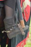Средневековый ботинок катания в стремени Стоковая Фотография