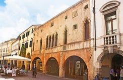 Средневековый городок стоковая фотография