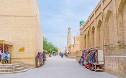 Средневековый городок Стоковые Изображения RF