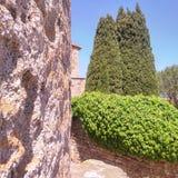 Средневековый городок Стоковое Изображение