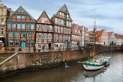 Средневековый город Stadt, Германия Стоковое Изображение RF