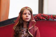 Средневековый действовать принцессы Стоковые Фотографии RF