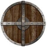 Средневековый деревянный изолированный экран стоковые фотографии rf