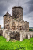 Средневековый замок в Bedzin Стоковые Изображения RF